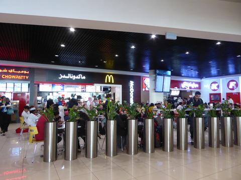 ドバイ空港T2 (3)