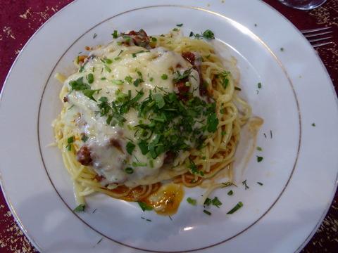夕食3 パスタ