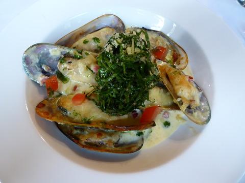 夕食 (3) Mussel