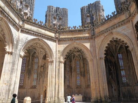 バターリャ修道院 (8)未完の礼拝堂
