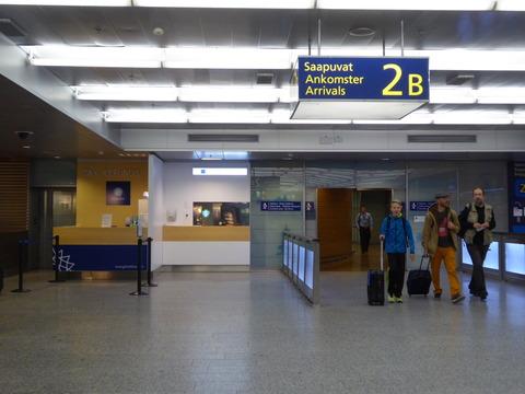 ヘルシンキ空港3