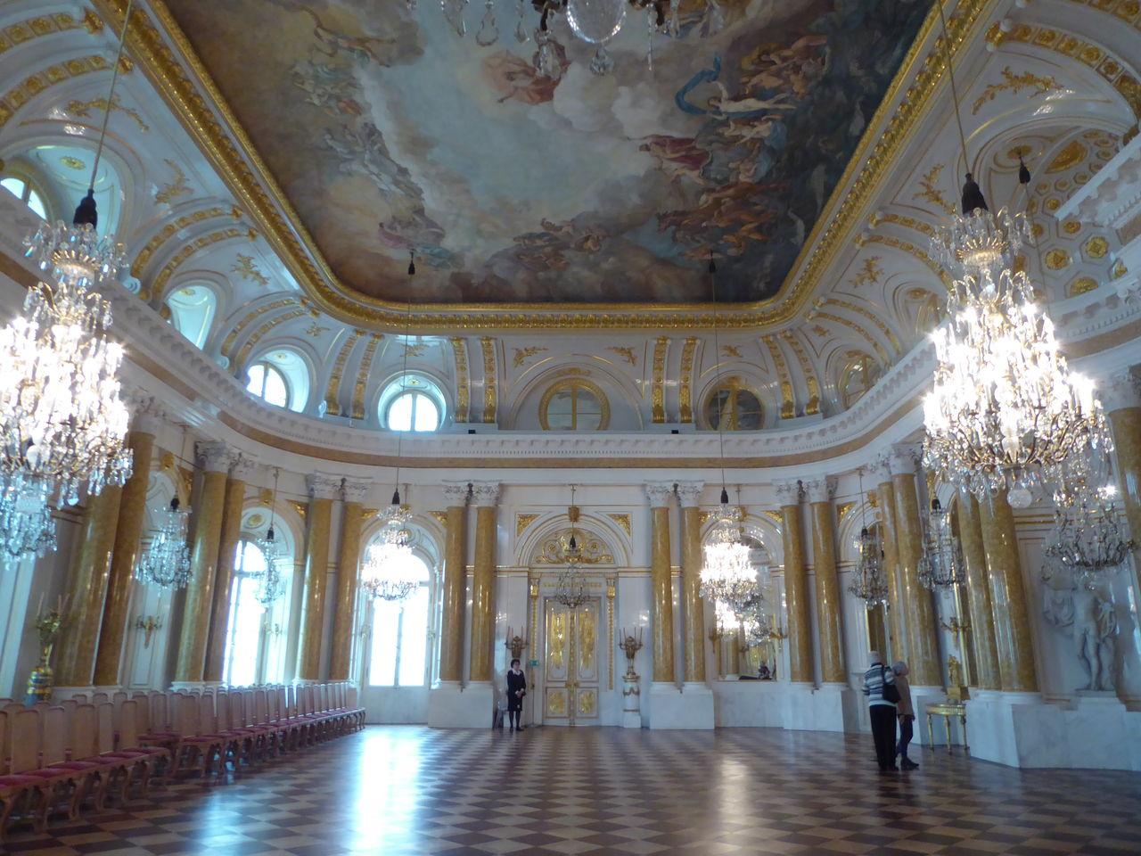 週末ポーランド その21 豪華なワルシャワの旧王宮☆ : ひまがあれば ...