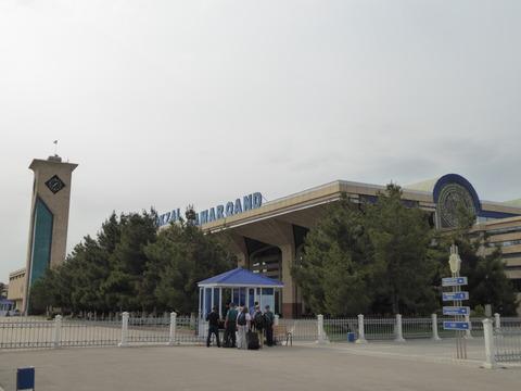 サマルカンド鉄道駅