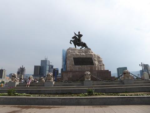 チンギス・ハーン広場 (1)