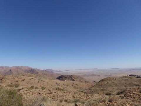ナミブ砂漠へ