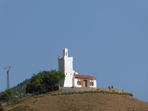 ㉑丘の上のモスク