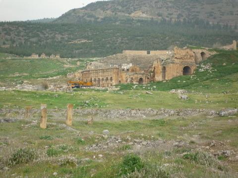 パムッカレ遺跡