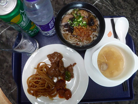 北京空港ラウンジ (9)