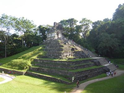 パレンケ (73) 十字架の神殿