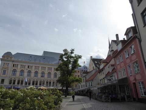 リガ旧市街 (119)リーヴ広場