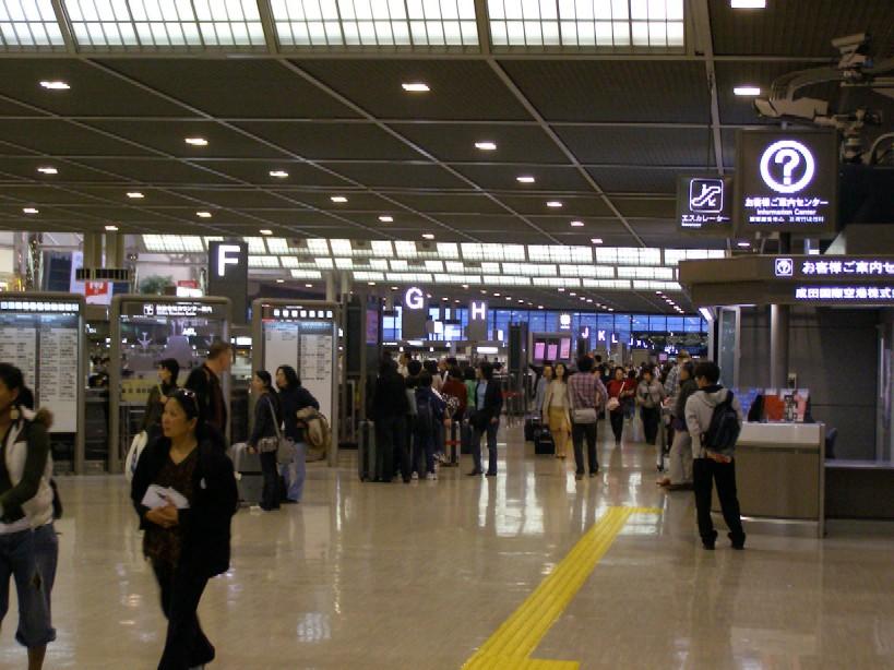 カナダ旅行日記(成田空港編) : トラベルネットのスタッフブログ