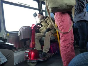 キャピラノ行きバス