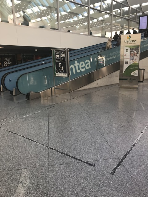 マドリードの駅