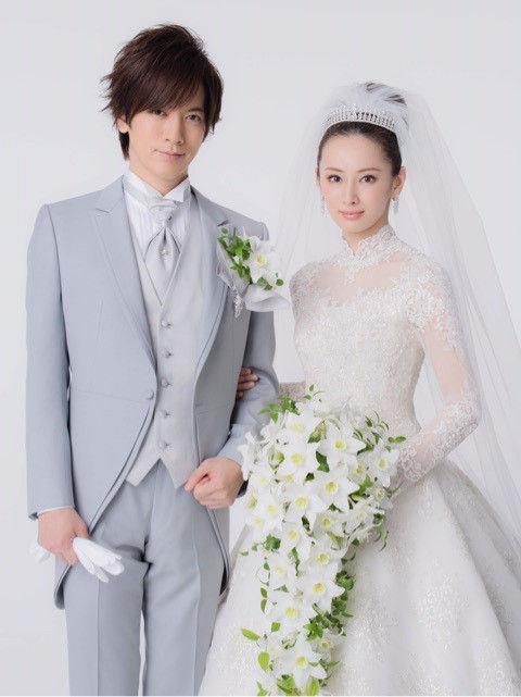 松田翔太、秋元梢夫妻結婚式。ウェディングドレスのブランドは?