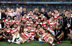 【ラグビーW杯】歴史的快挙!日本代表 4戦全勝で初のワールドカップ8強!