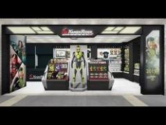 世界初となる公式仮面ライダーグッズショップが東京駅一番街にオープン