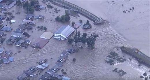 洪水リスク