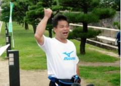 ジミー大西 大阪マラソン