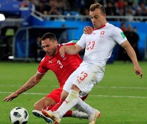 セルビア 対 スイス