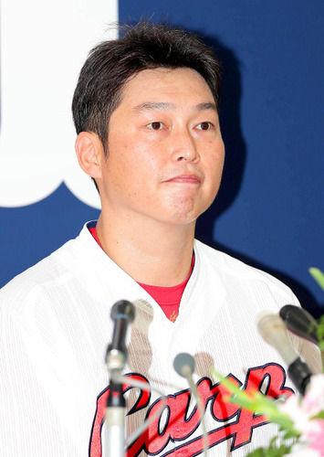 新井貴浩 引退表明