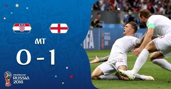 クロアチア 対 イングランド