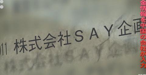 say企画