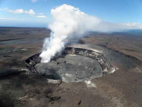 キラウエア火山 爆発的噴火