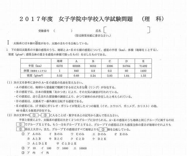 芦田愛菜 女子学院 合格
