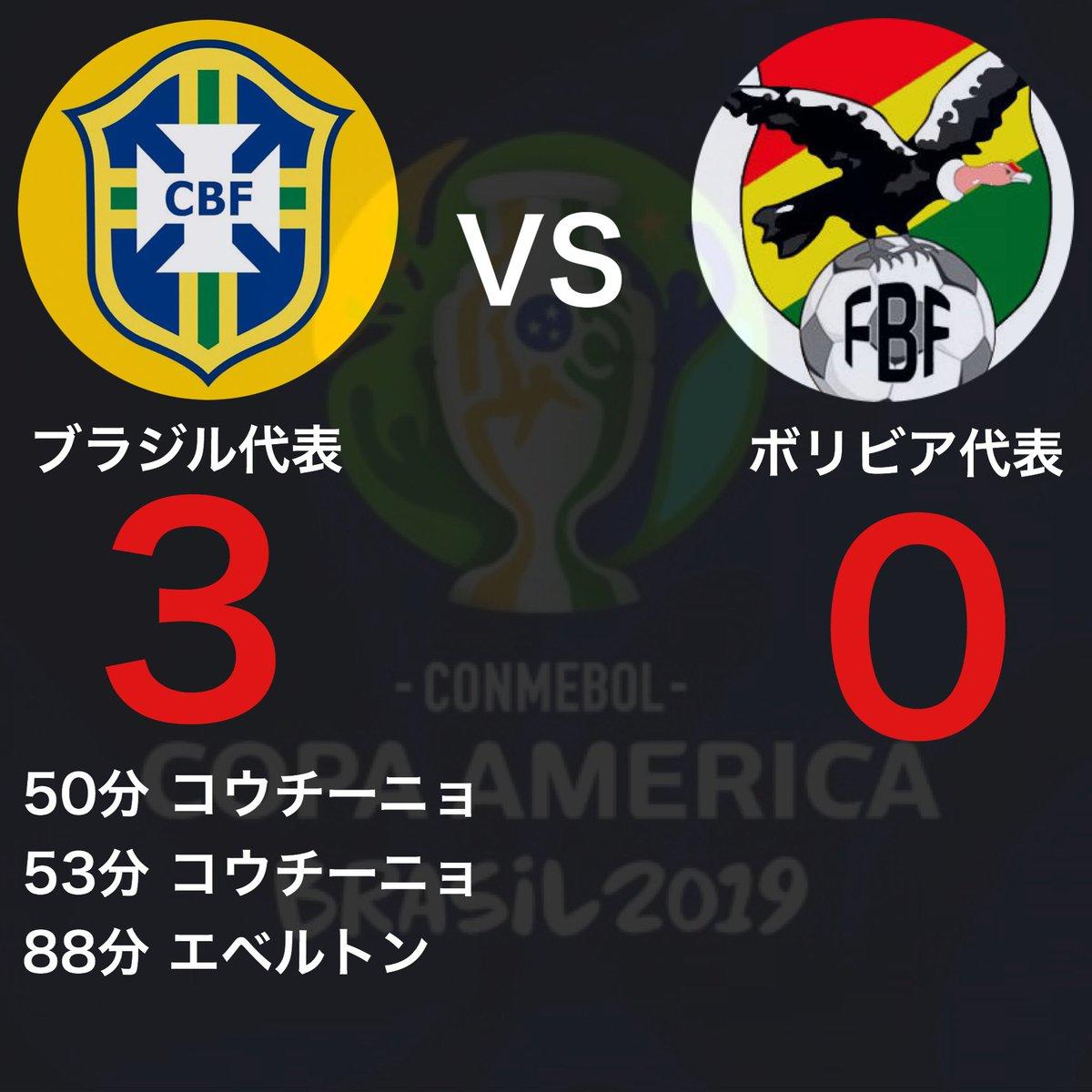 コパアメリカ 2019