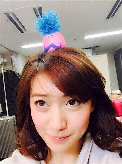 大島優子 髪