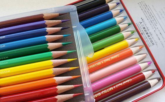 硬筆色鉛筆