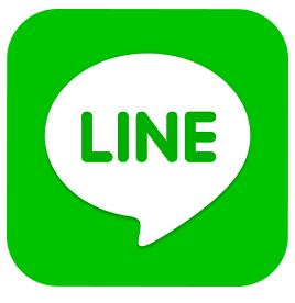 LINE桜