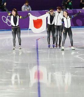 スピードスケート女子団体追い抜き