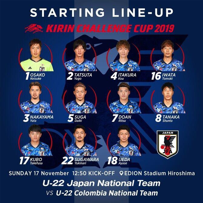 サッカー日本代表 U-22