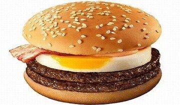月食バーガー マクドナルド