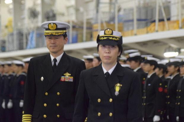護衛隊司令 女性初