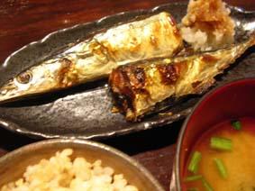 魚政の秋刀魚