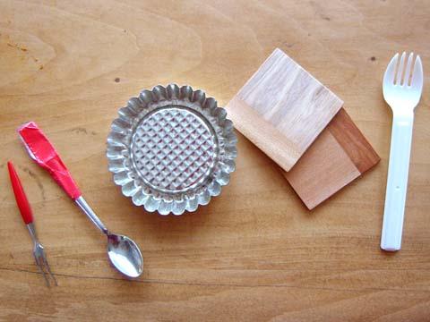 台所道具で実験
