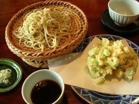 長野で蕎麦