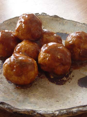 エスキース・カルテット/鶏肉とおからの肉団子