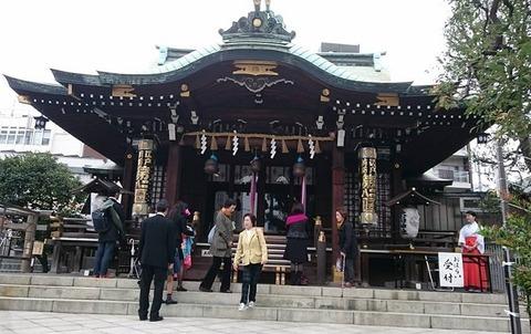 20161030目黒大鳥神社