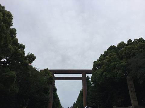 20160604靖国神社
