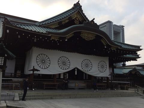 20151022靖国神社