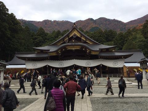 20151106弥彦神社1