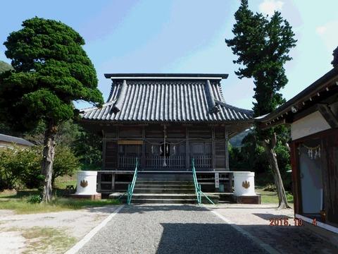 20151004布良崎神社1