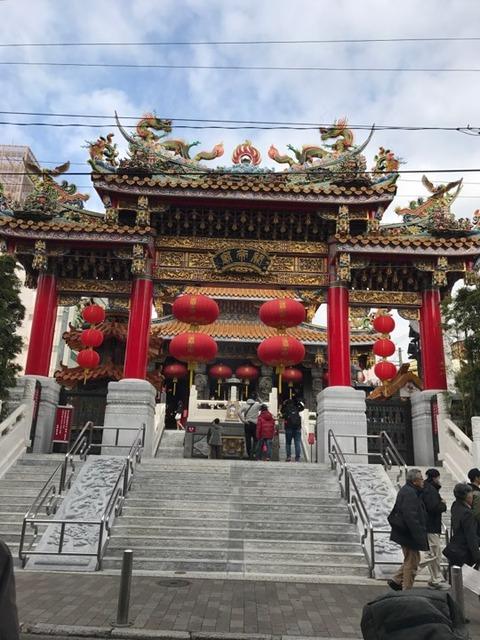 20180119横浜中華街にある関帝廟