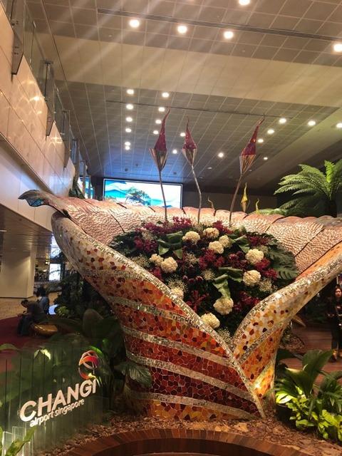 20180111 シンガポール空港