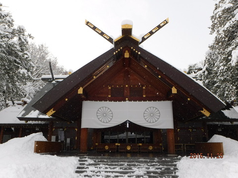 20151125北海道神宮