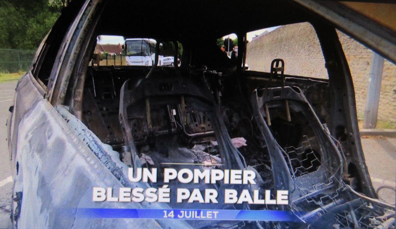 フランス・ポンピエ待ち伏せ銃攻撃で負傷 : ソワレが要らないフランス ...