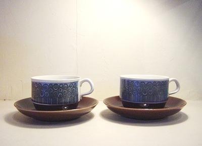 "Rorstrand ""AMANDA"" Cup&Saucer"